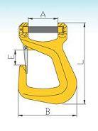YF016 G80 Clevis Belt Hooks