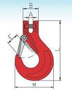 YF247 G80 Clevis Slip Hooks Italian Type