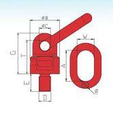 YF303 G80 Muti-Directional Using Lifting Swivel