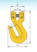 YF338 G80 Clevis Shortening Hooks