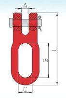 YF240 G80 Clevis Choker Link